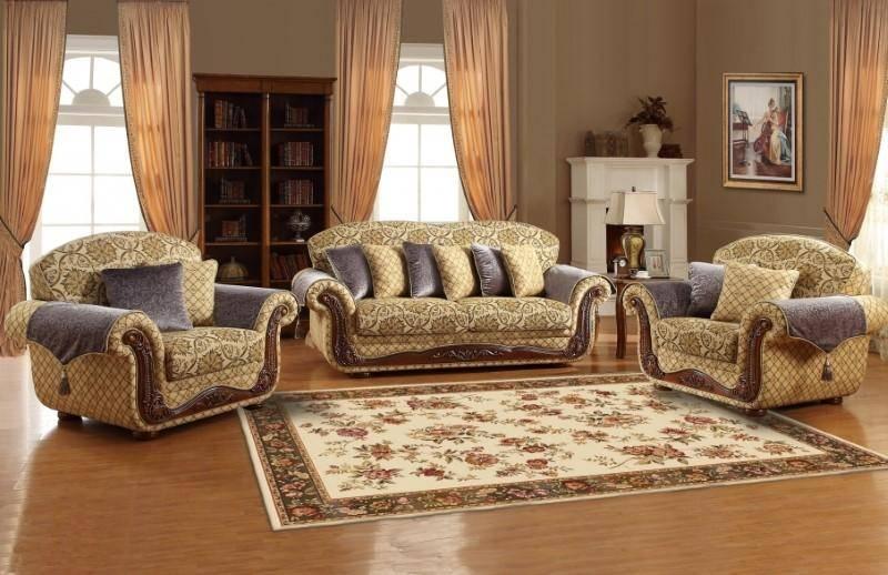 Набор мягкой мебели в стиле ампир. Цена от 35 000 рублей.