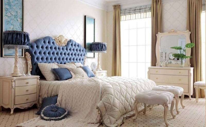 Спальня в стиле неоклассика. Цена от 30 000 рублей.
