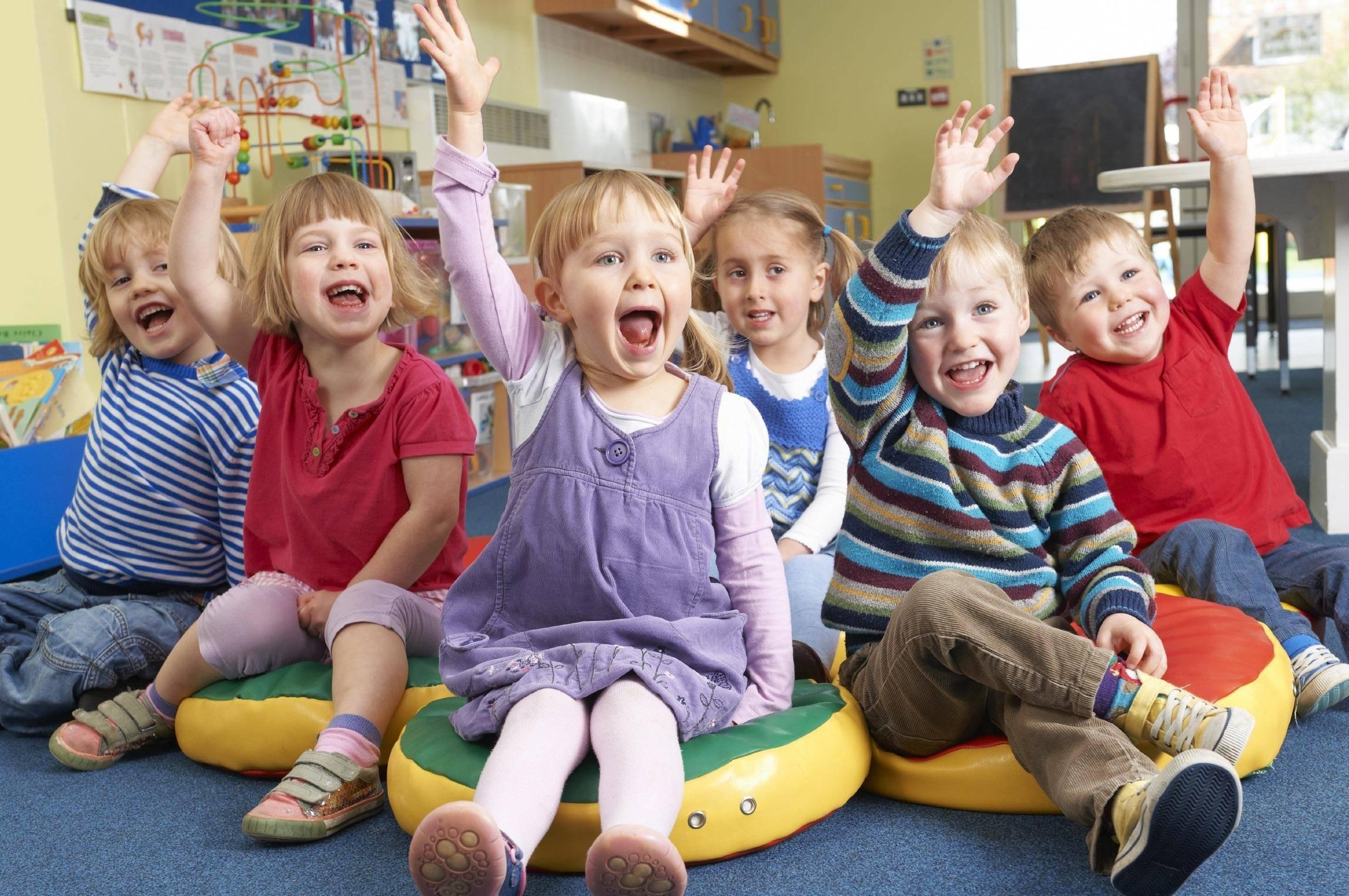 детские картинки про детский сад