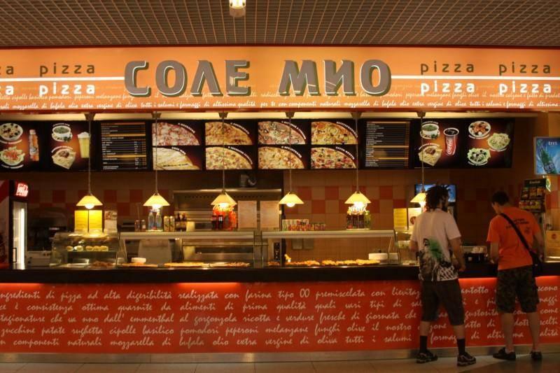 Франшиза пиццерии Соле Мио: основные условия и стоимость в России.