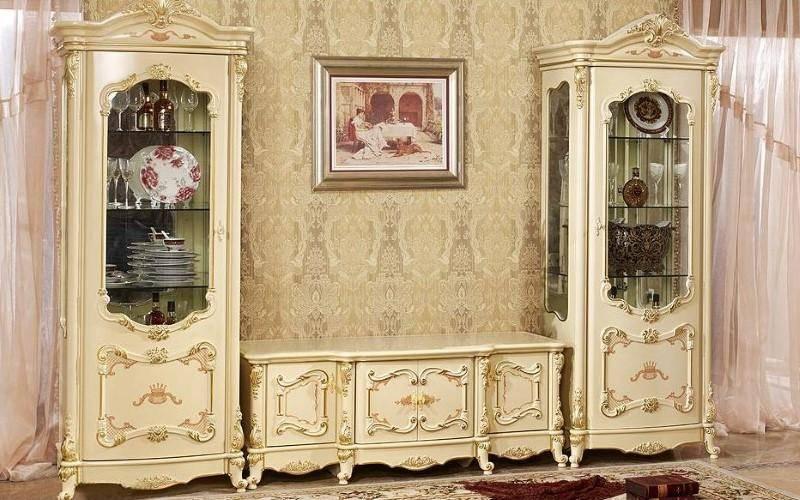 Гостиная в стиле неоклассика. Цена от 40 000 рублей.