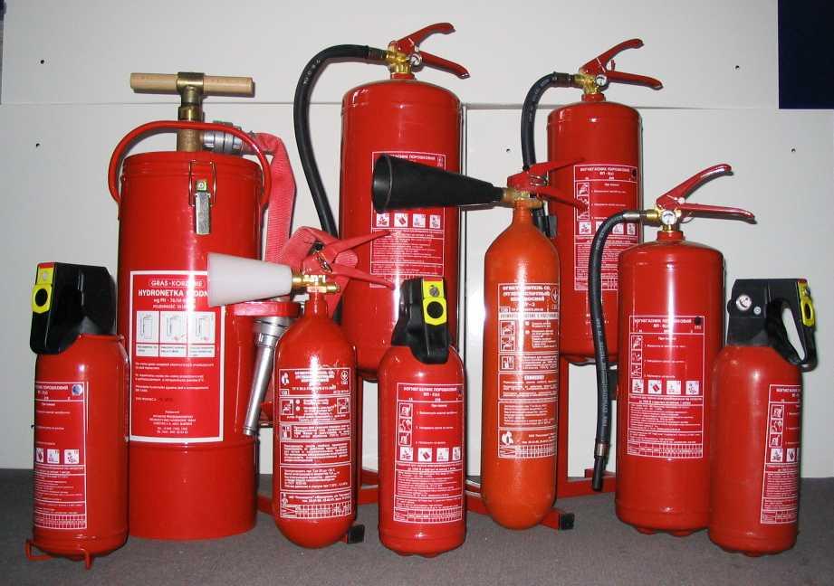 Что необходимо указать в журнале учета огнетушителей?
