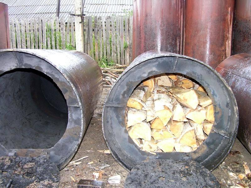 Пошаговая инструкция по производству древесного угля в промышленных масштабах.
