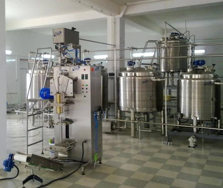 Молочный мини-завод.
