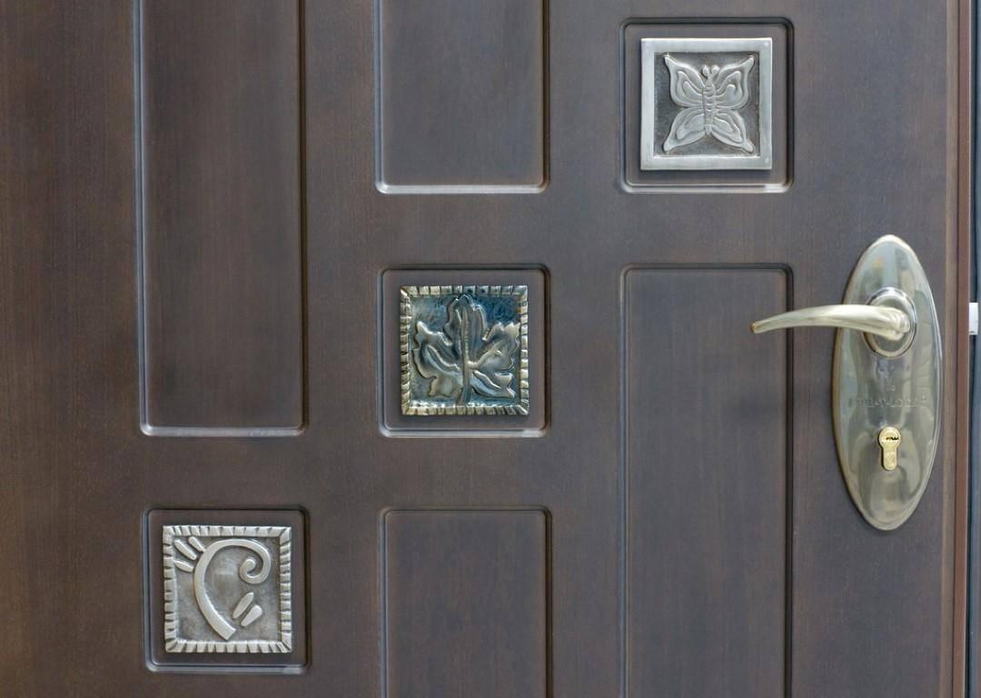 схема изготовления входных дверей из металлопрофиля