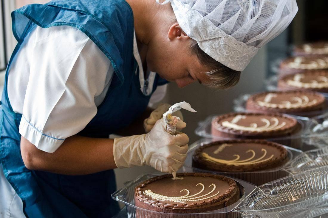 организовать производство пирожных рецепты
